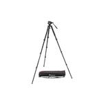 Manfrotto 535 Aluminium 4-Section Single Leg Tripod with Case and MVH500