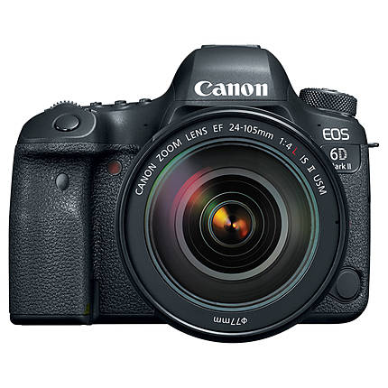 Canon EOS 6D Mark II Digital SLR with EF 24-105mm f/4L IS II USM Lens