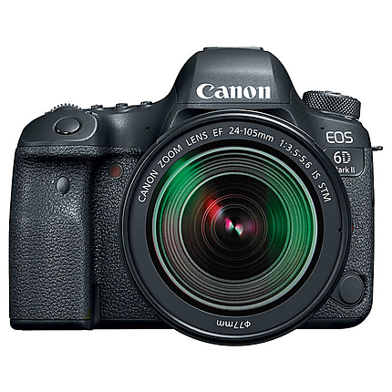 Canon EOS 6D Mark II Digital SLR with EF 24-105mm f/3.5-5.6 IS STM Lens