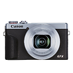 Canon PowerShot G7X Mark III Digital Camera (Silver)