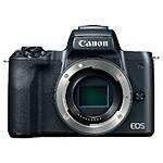 Canon EOS M50 Mirrorless Camera Body - Black