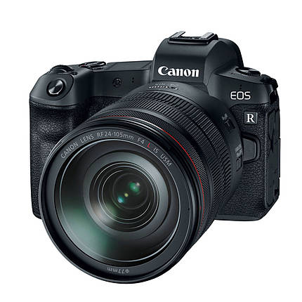 Canon EOS R Digital Camera with RF24-105mm F/4 L IS USM Lens