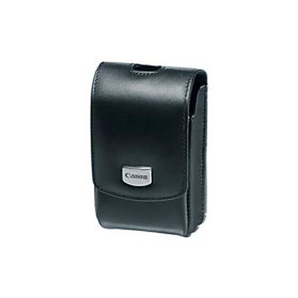 Canon PSC-3200 Deluxe Leather Case for Select Canon Cameras (Black)