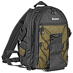 Canon 200 EG Deluxe Backpack (Black with Olive Trim)
