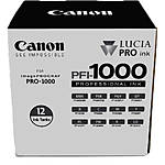 Canon PFI-1000 LUCIA PRO 12 Ink Tank Set