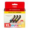 Canon CLI-271XL Cyan Magenta and Yellow 3 Color Pack