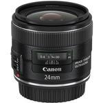 Canon EF 24mm f/2.8 IS USM Wide Angle Lens - Black