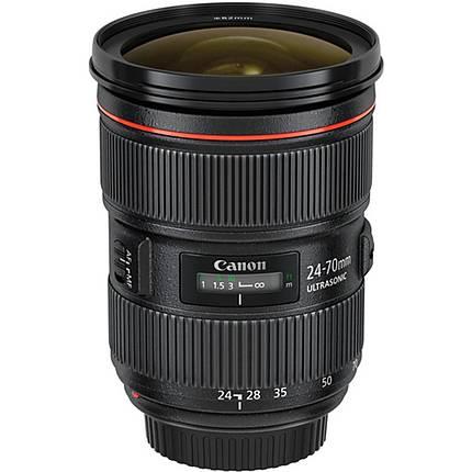 Canon EF 24-70mm f/2.8L II USM Standard Zoom Lens - Black