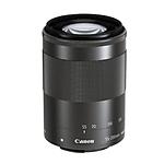 Canon EF-M 55-200mm f/4.5-6.3 IS STM Lens - Black