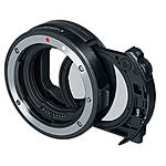 Canon EF-EOS R Drop-in Filter Mount Adapter with Circular Polarizing Filter