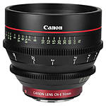 Canon CN-E 50mm T1.3 L F Cinema Prime Lens (EF Mount)