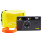 dubblefilm SHOW Camera Black w/ Flash Case Strap