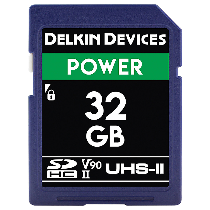 Delkin Devices Power 64GB SDXC UHS-II V90 Memory Card