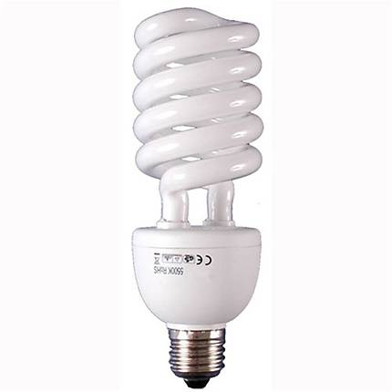 DLC E.P.C. CFL 30Watt 110Volt 5500 Kelvin Spiral Screw-In Lamp