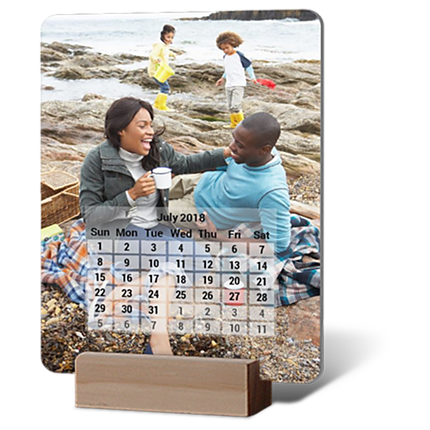 Card Calendar 5x7 with Block Stand