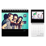 Wall-Mounted Calendar, 6x6, 12 months