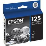 Epson 125 Black Ink Cartridge for Stylus Nx125, Nx127, Nx130, Nx230 Pri