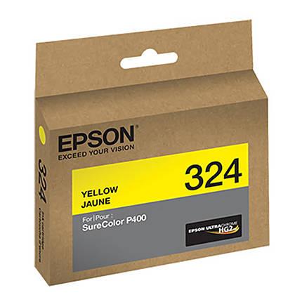 Epson T324 Yellow UltraChrome HG2 Ink Cartridge
