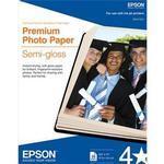 Epson 8.5x11 Premium Semi Glossy Paper - 20 Sheets