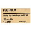 Fujifilm 4x213 DX100 Inkjet Paper Glossy for Frontier-S DX100 Printer