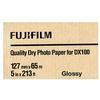 Fujifilm 5x213 DX100 Inkjet Paper Glossy for Frontier-S DX100 Printer
