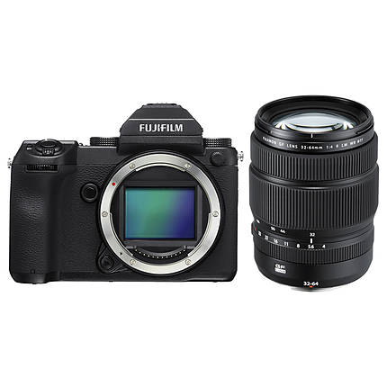 Fujifilm GFX 50S Medium Format Mirrorless Camera with GF 32-64mm Lens