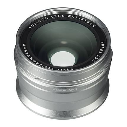 Fujifilm WCL-X100 II Wide Conversion Lens (Silver) for X100F