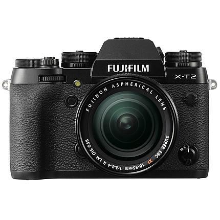 Fujifilm X-T2 Mirrorless Digital Camera with 18-55mm Lens - Black