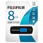 Fujifilm 8GB USB 2.0 Capless Slider Flash Drive