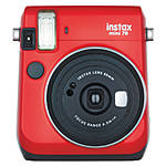 Fujifilm Instax Mini 70 Camera - Passion Red