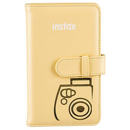 Fujifilm Instax Photo Wallet Album - Yellow