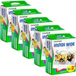 Fujifilm Instax Instant Wide Film 5x Twin Packs (100 Pictures)