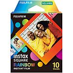 Fujifilm Instax Square Rainbow Film - 10 Exposures