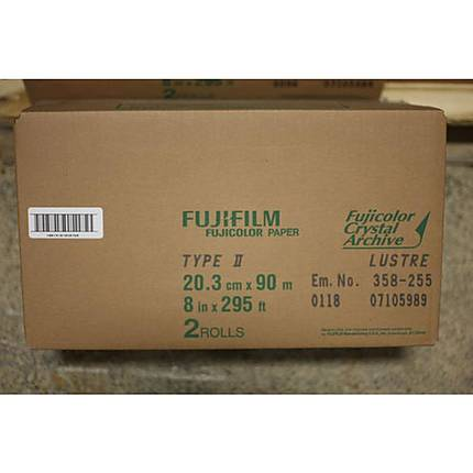 Fujifilm Paper Crystal Archive Type Two 8x295 Lustre