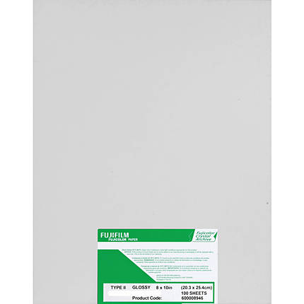 Fujifilm Crystal Archive Paper Type II 8x10 Glossy (100 Sheets)
