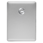 G-Technology 4TB G-DRIVE Mobile USB-C Portable External Hard Drive -Silver