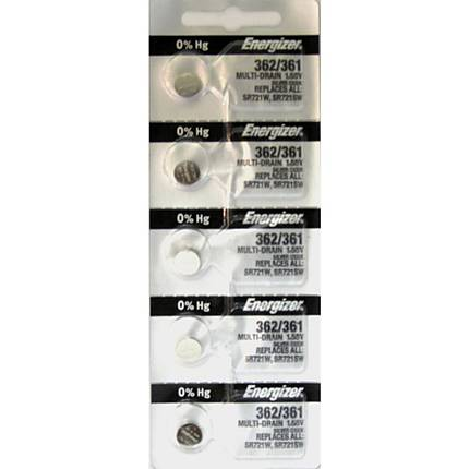 Photo Brand 362/RW362/SR721SW Battery (sold by the battery)