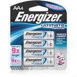Energizer AA 4pk 9X Ultimate Lithium Battery L91BP4