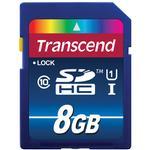 Transcend 8GB 300x UHS-1 Class 10 SDHC Memory Card