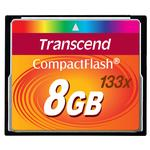 Transcend 8GB 133x Compact Flash Card