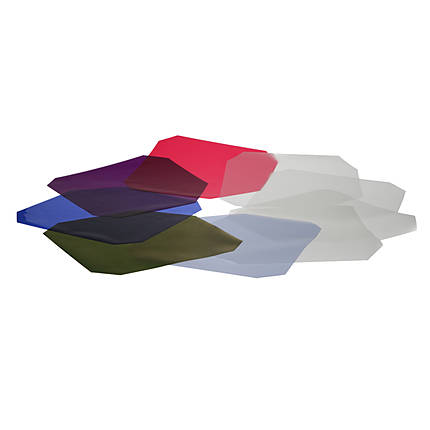 Hensel Colour and Diffusion Filter Set for 9 Reflectors