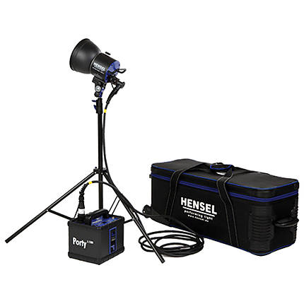 Hensel Porty L 1200 Original 1 Kit w/ EH Mini P LED Speed Head