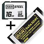 Hoodman Steel 16GB SDHC UHS-1 Class 10 SxSxSDXC Memory Adapter Kit