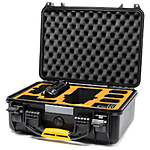 HPRC Waterproof Hard Case with Overlay for DJI Mavic 2 Pro/Zoom + Smart Cont