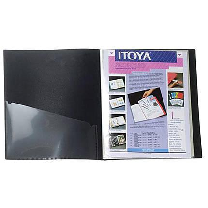 Itoya 4x6 Art Profolio Storage/Display Book 24 Sleeves/48 Images