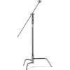 Kupo 40 in Turtle Base C-Stand Kit Silver w/Grip Head  and  40 in Hex Stud Arm