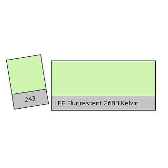 LEE Filters Fluorescent 3600k Lighting Correction Gel Filter