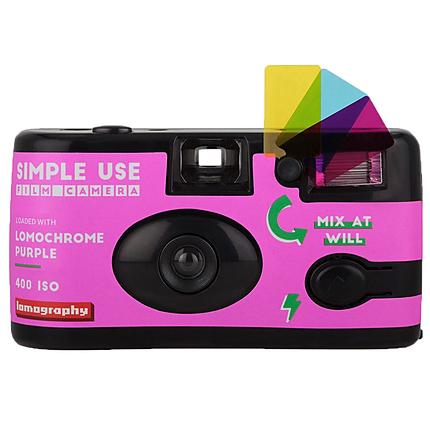 Lomography - Simple Use Film Camera - Lomo Chrome Purple
