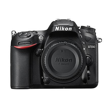 Nikon D7200 DX-format Digital SLR Body Only - Black