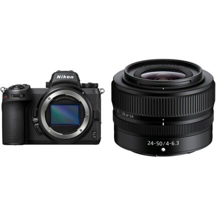 Nikon Z7 II Mirrorless Digital Camera with 24-50mm f/4-6.3 Lens